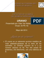 presentacion uranio
