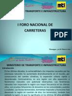 Mantenimiento de Carreteras Con Enfoque de Gestic3b3n de Riesgo y Seguridad Vial