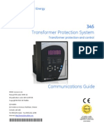 GE SR Relay 345 Communication Guide v1.41