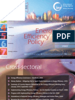 Energy Efficiency Policy
