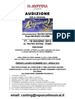 Bando Aud Rapunzel 2013