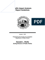 traffic impact analysis guidelines