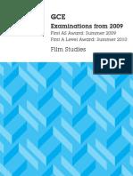 film studies specification