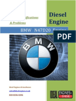 BMW N47D20 ENGINE