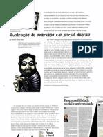 A ilustração de opinião no jornal diário (Ricardo Cunha Lima) - Designe 5 (2004)