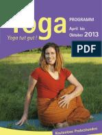 Abendkurse im Haus Yoga Vidya Bad Meinberg 2013