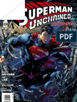 Superman Unchained variant covers exclusive preview