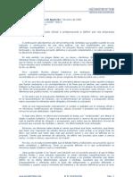 Error de Proyecto Oficial o Anteproyecto a Definir Por Las Empresas Licitantes