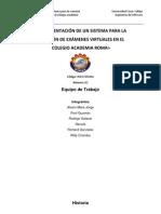 Contenido del Modelo del Análisis 1ª Versión-LISTO