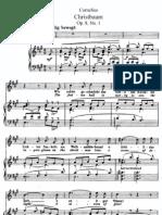 Cornelius Weinachts Lieder 1 Christbaum
