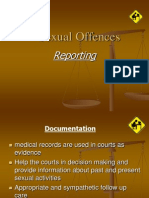 sexual offences forensic reporting