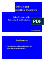 dsm5 neurocognitivedisorders jeste