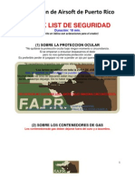 Check List de Seguridad WM-2