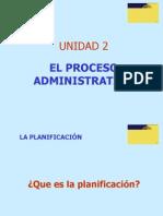 Unidad 2 Parte 1 Planificacion