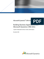 Building Business Applications With CRM 2011
