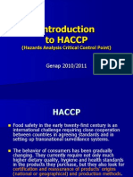 Introduction Haccp