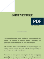 Joint Venture Ppt