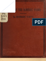 The Origin of the Homeric Poems, A Lecture - Dr. Hermann Bonitz, Trans Packard 1880