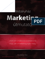 Webáruhaz Marketing Útmutató
