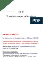 Transducteur Quartz