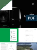 Catalogue GENELEC Monitors