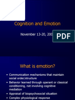 Emotion and psychology