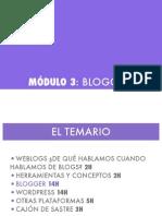 Módulo 3- Blogger COMPLETO