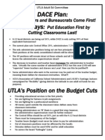 Budget Cuts Handout 4-09
