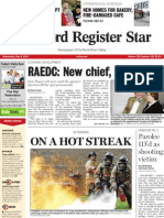 Front page layout