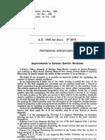 Nikola Tesla UK Patent 0002975