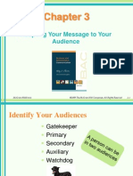 Chapter 2- Adapting Your Message to Your Audience