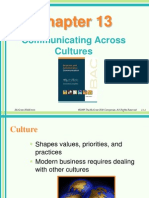 Chapter 13-Communicating Across Cultures
