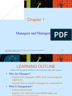 Chapter 1 Manager & Managing