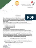 Pendlergeld sofort! Beschlussantrag der BürgerUnion - Andreas Pöder
