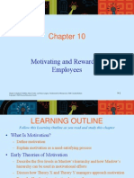 Chapter 10 MOTIVATION