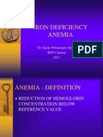 IM-Iron Deficiency Anemia