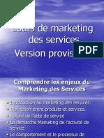 Cours Marketing Servicves Bem 2013