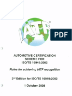 Rules for Achieving IATF Recognition 3rd Edition