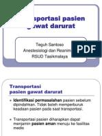 Transportasi Pasien Gawat Darurat