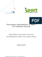 Participant Development in Sport