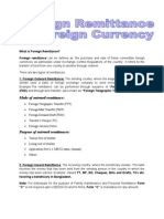 Foreign Remittance PRESENTATION