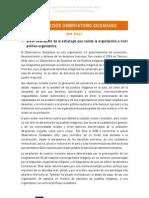 Contribucion OBSERVATORIO CIUDADANO