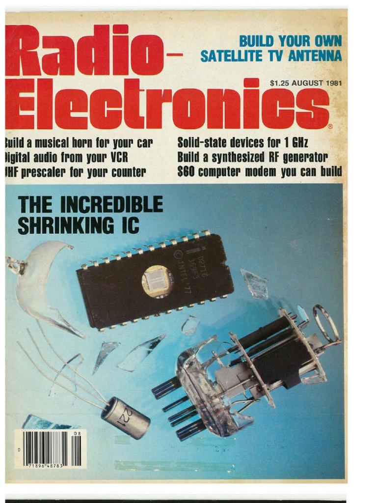Re 1981 08 Function Generator Circuit Diagram Besides On Ca3080