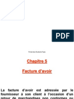 CG Facture Avoir