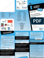 Flyer AREF2013 Site