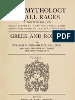 Mythology of All Races VOL 1