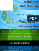 I/O Buffering Operating System