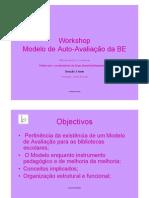 Workshop Auto-Avaliação