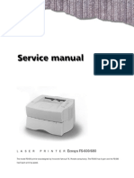 Kyocera FS-600-680 Service Manual