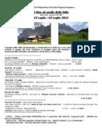 Giro Delle Odle  15-19 luglio 2013